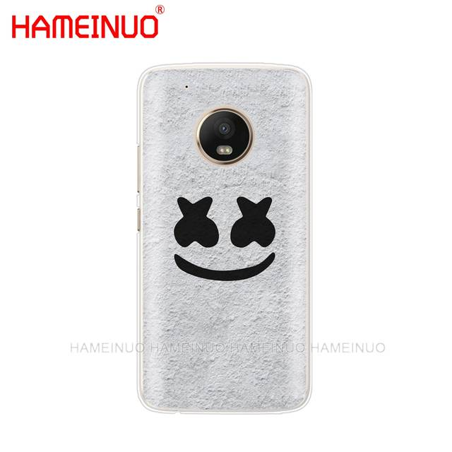 US $1 93 34% OFF|HAMEINUO Marshmello Unique Design High Quality case phone  cover For Motorola Moto X4 C G6 G5 G5S G4 Z2 Z3 PLAY PLUS-in Half-wrapped