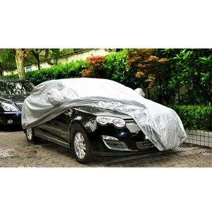 Image 5 - Cubierta completa para coche protector solar para interior y exterior, protección solar contra el calor UV para nieve, a prueba de polvo, Anti UV, resistente a los arañazos, traje Universal para Sedán