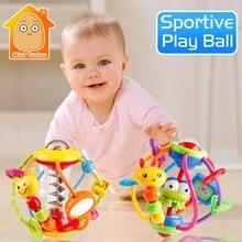 Детская погремушка Activity Ball развивающие игрушки-погремушки для младенцев схватывающий мяч головоломка Playgro детские игрушки 0-12 месяцев восхождение обучение