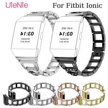 купить Luxury business strap For Fitbit Ionic Fashion/Classic Watch wrist Band For Fitbit Ionic smart watch replacement bracelet по цене 685.83 рублей