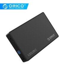 ORICO 3588US3 HDD корпус 3,5 дюймов SATA внешний жесткий диск корпус, USB 3,0 инструмент бесплатно для 3,5 «SATA HDD и SSD