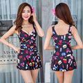 Women Ladies Sexy High Quality One Piece Swimsuit Push Up Bra Dress Pads XXL Swimwear Female Holiday Clothing Bathing Suit