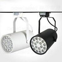 High Quality White Black Ce RoHS 18w Track Light Guarantee Quality 18W Led Rail Light Decorative