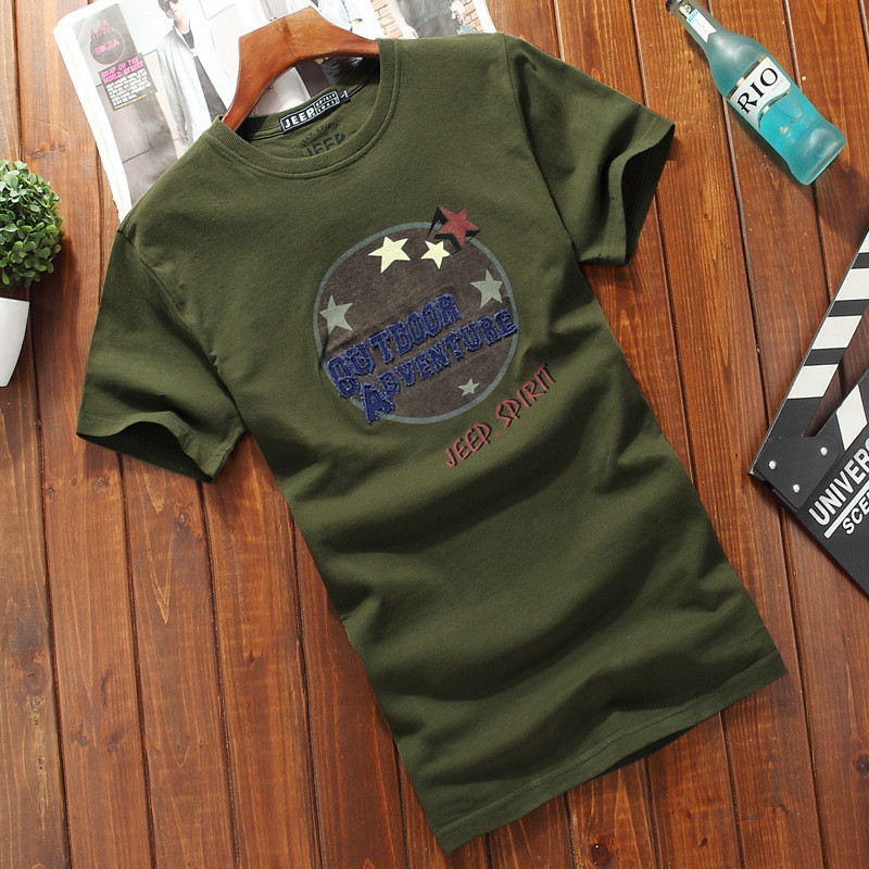 Short sleeved t shirt men's summer new t shirt men's t shirt round neck original fun print