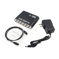 5 1 CH Audio Decoder SPDIF Coaxial To RCA DTS AC3 Digital To 5 1 Amplifier