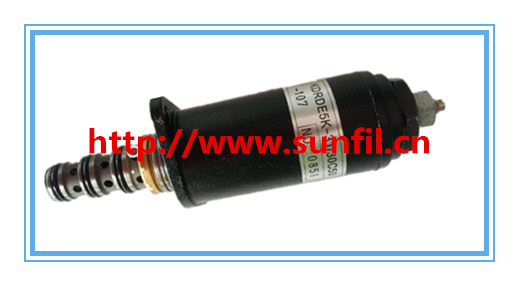 Wholesale Excavator solenoid YB35V00006F1 SK200/230-6E,3PCS/LOT,Free shipping new rotation solenoid valve kwe5k 31 g24ya50 for excavator sk200 6e
