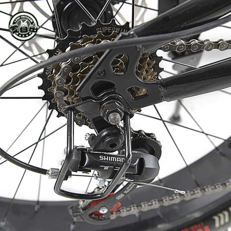 Love Freedom  26 Дюймов высокое качество велосипед 21/24 скорость горный велосипед 4,0 жира велосипед спереди и сзади амортизацией велосипеды