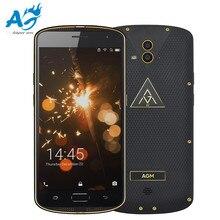 AGM X1 4G Phablet 5.5 inç Android 5.1 MSM8952 Octa Çekirdek 1.5 GHz 4 GB RAM 64 GB ROM Çift 13.0MP Arka Kameralar NFC Parmak Izi sensör
