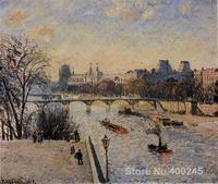 artwork by Camille Pissarro The Louvre High quality Oil paintings reproduction Hand painted