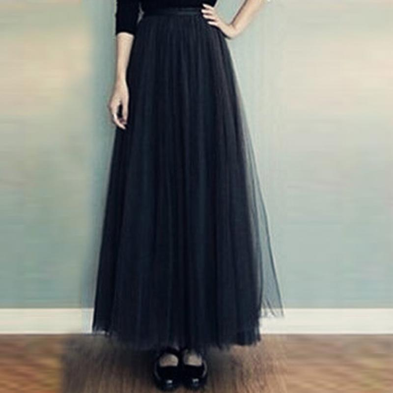 Пышная юбка вуаль