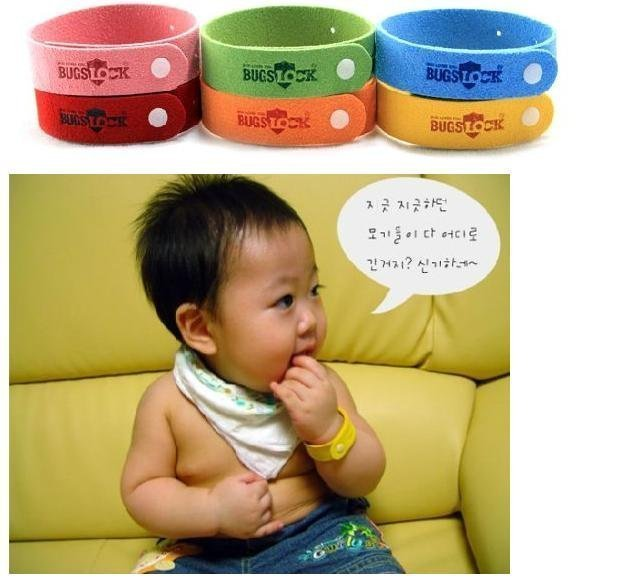 Freeshipping Bugslock Bugs Lock Mosquito Repellent Band Bracelet 1000 Pcs Lot