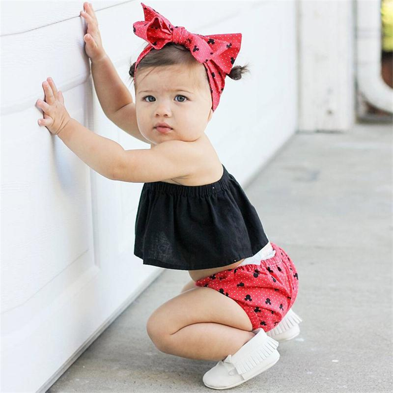 2018 Baby Girls Summer Kids Clothing Tube Tops Candy Color Sleeveless Cotton Baby Tshirt Top Cute Infant Costume( 0-3T)