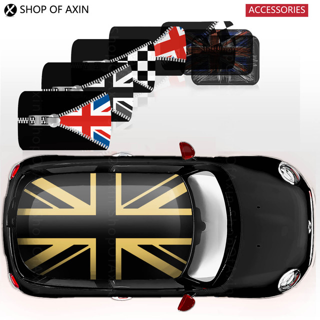 Creative Full Whole Cover Roof Graphics Stickers Decal For Mini