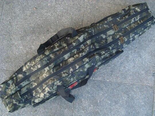 Prix pour Marque new super grand 1.5 mètres 3 couche Camouflage grand attirail de pêche sac canne à pêche sac