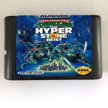 Teenage Mutant Ninja Turtles De Hyper Steen Heist-16 bit MD Games Cartridge Voor MegaDrive Genesis console(China)