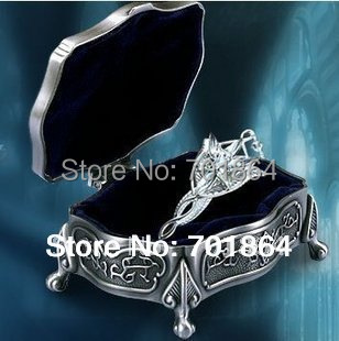 925 Sterling Silver Arwen Evenstar Pendant Necklace Jewelry Gift metal case packed