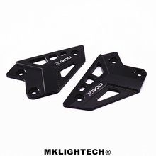 Motorcycle Film Mount Heel Guard For Kawasaki Z900 2017 Accessories Foot Peg Protection Protective