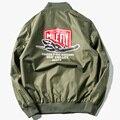 Hombres Chaqueta De bombardero de la Fuerza Aérea Piloto USAF Kanye West MA1 Chaqueta Rompevientos Hombres Chaqueta Hombre de la Bandera de La Nasa Chaqueta 5XL 6XL, YA347
