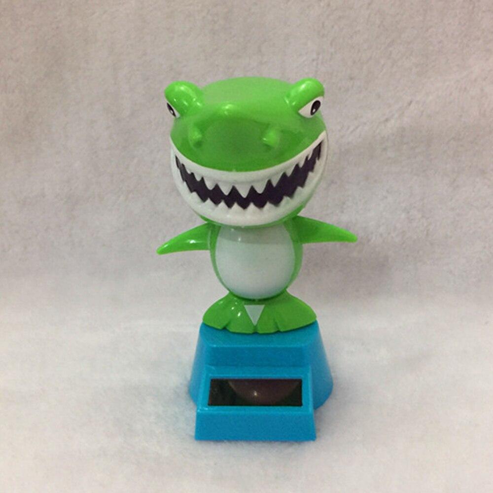 Солнечная Акула качающаяся игрушка танцор Декор офис солнечной энергии автомобиль милый Универсальный Танцующая игрушка