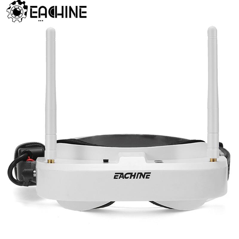 Eachine EV100 720*540 5.8G 72CH Óculos FPV Com Antenas Dual Fan 7.4V 1000mAh Da Bateria
