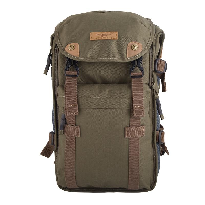 Winer militaire vert caméra vidéo sac voyage sac à dos Étanche camera Case Sac pour Canon EOS DSLR 750D 700D 650D 600D 1100D
