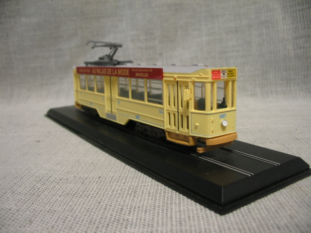 Special offer is rare 1:87 5000 1935 Train Model Static Tram Model Collection(China)