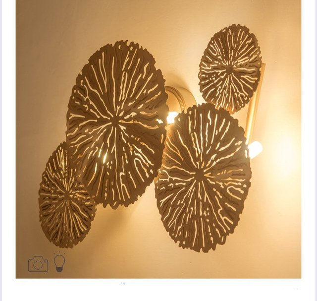 Modern Luxury Led Wall Sconces Copper/Steel Wall Lights Lamp Fixture Home Decorative Lamps Night Light Indoor Bedroom Living Roo