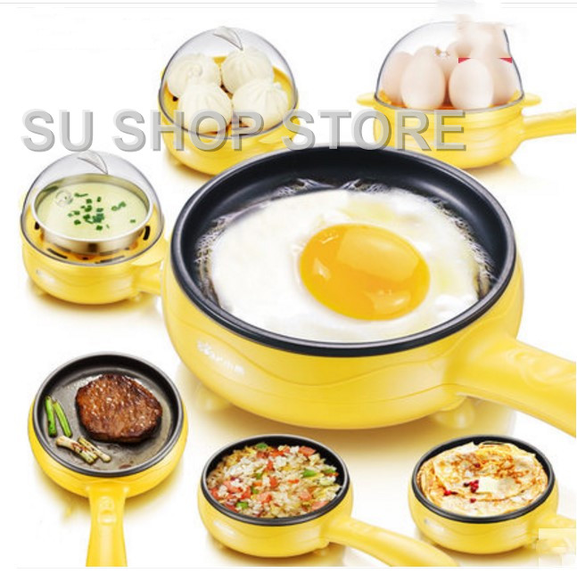Multifunction household mini egg omelette Pancakes Electric Fried Steak Frying Pan Non-Stick Boiled eggs boiler steamer Shut Off household popcorn maker multifunction egg boiler steamer electric skillet mini omelette frying pan corn popper page 6