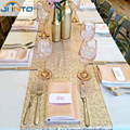 30CM X 274CM  party table runner  Table Swags golden wedding table decoration