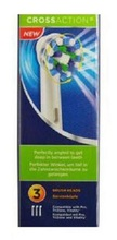 Envío de la gota 3 unids (3 unids/pack) Cabezas de cepillo de Dientes cepillo de Dientes Eléctrico Jefes Reemplazo EB50-3 Cross Acción