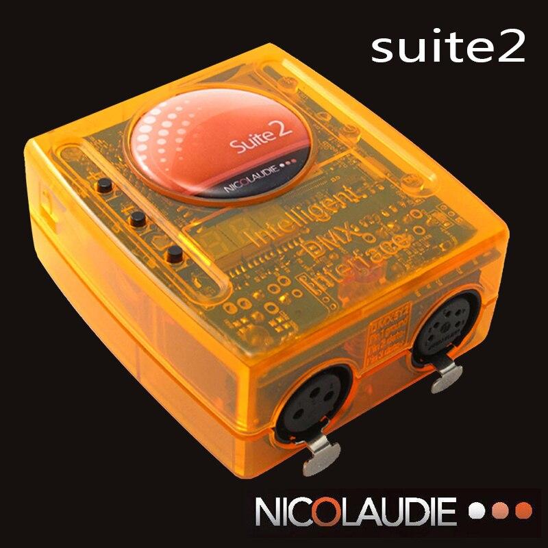 Stage contrôle de logiciel Sunlite Suite2 FC DMX-USD Contrôleur DMX bonne pour DJ KTV Partie LED Lumières Éclairage de Scène
