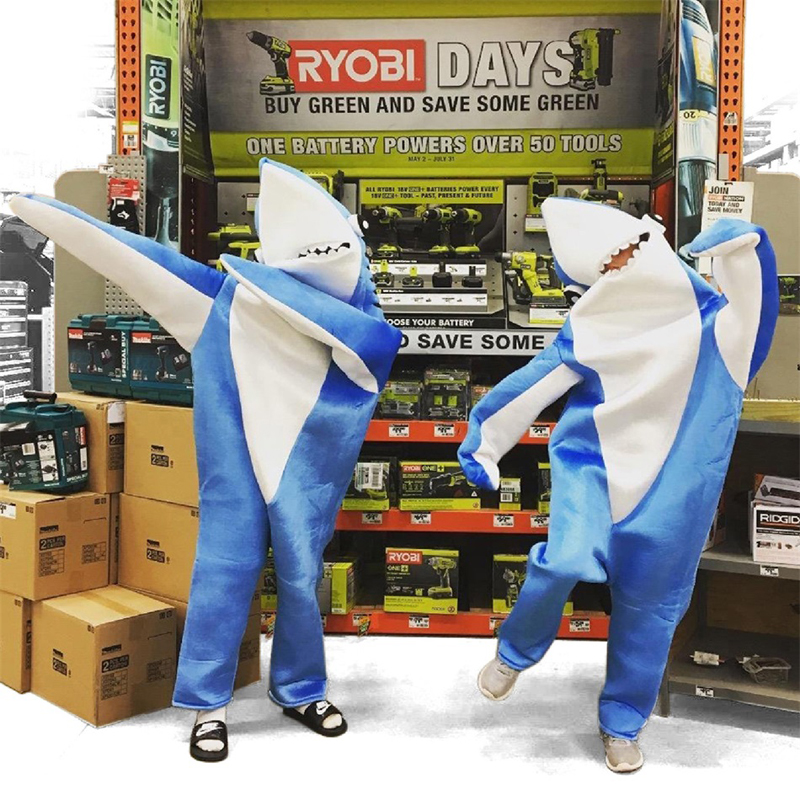 Adults-Kids-Halloween-Christmas-Cosplay-Costume-Shark-Stage-Fancy-Dress-Jumpsuit (2)