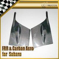 Car Styling For Subar 2002 2005 Impreza GDB STI Carbon Fiber Front Bumper Corner