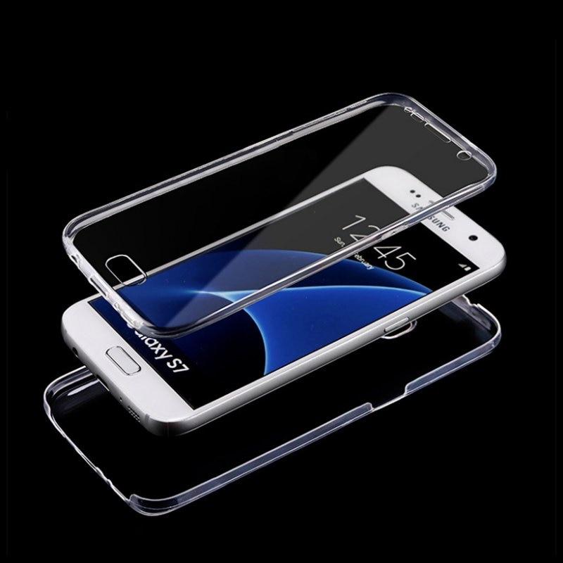 S8 S9 Plus Case Front + Back Cover Ամբողջ մարմնի - Բջջային հեռախոսի պարագաներ և պահեստամասեր - Լուսանկար 2