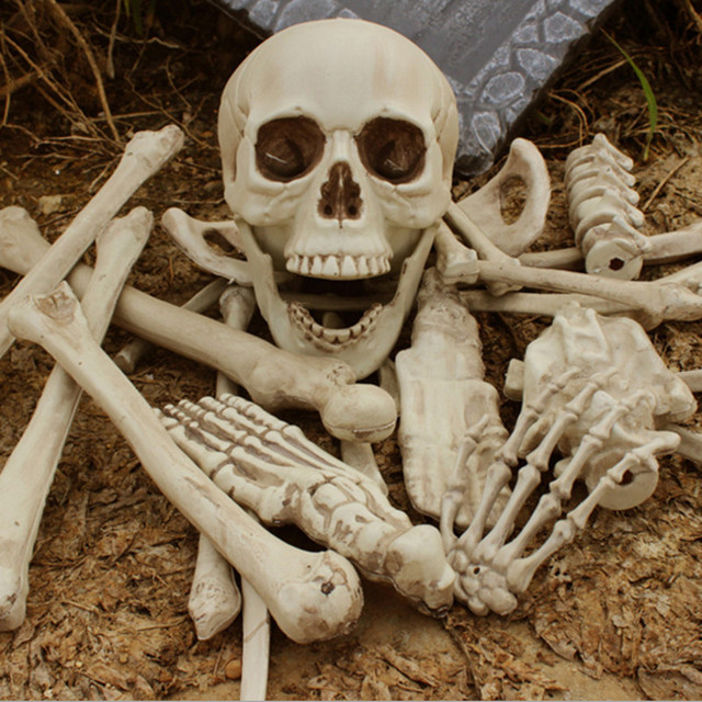 x merry toy 28pcs of bag bones halloween skull skeleton decorations holiday props haunted house - Skeleton Decorations