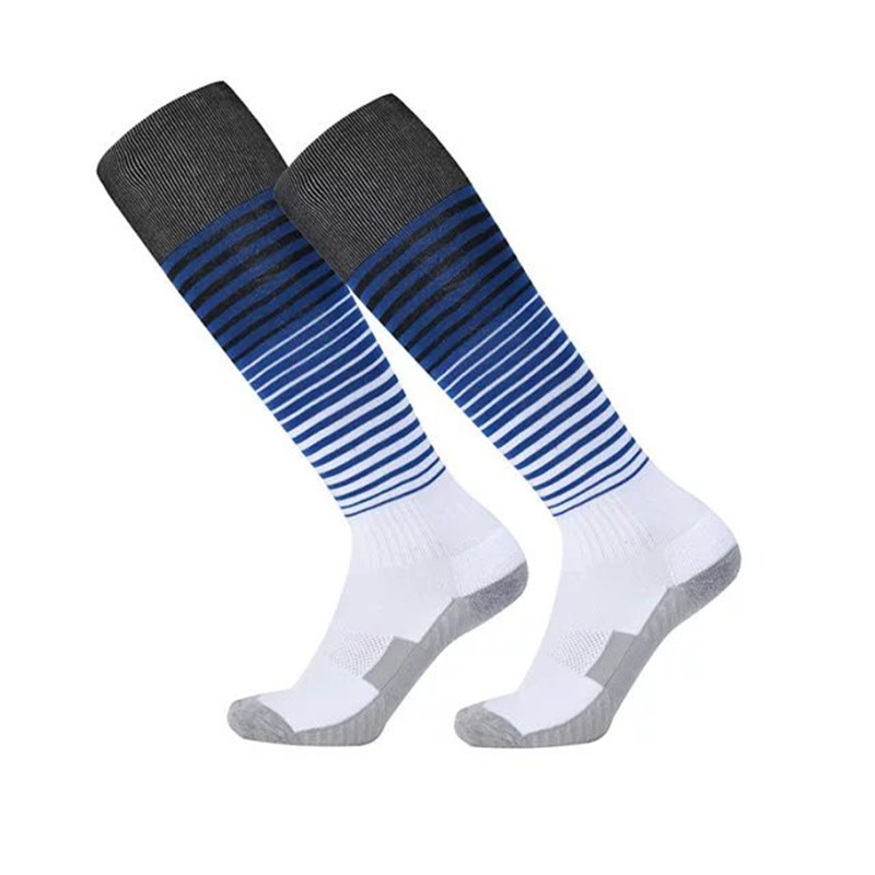 4pcs Lot Men's Male Football Socks Soccer Long Stockings Sports Running 9 Colors