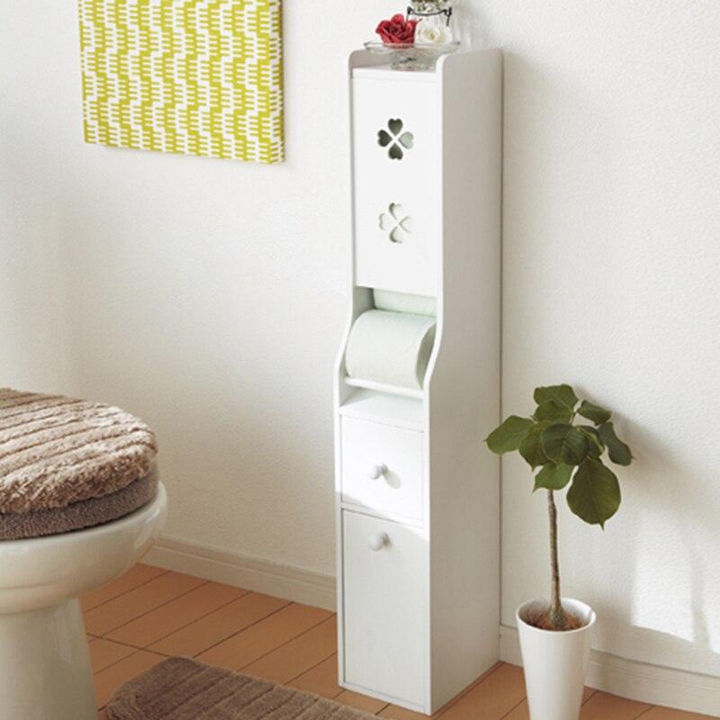 Landmark plaza home style korean waterproof bathroom storage cabinets finishing rack shelving - Meuble rouleau papier wc ...