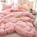 Winter comforter Duvet warm full queen king size microfabric quilt
