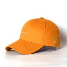 Cotton Baseball Cap Boys Girls Snapback Caps Men Women Hip Hop Hats Purple Yellow 5 Colors