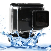 PULUZ For Xiaomi YI 2 4K Action Camera Case Touch Screen 45m Waterproof Housing Protective Case