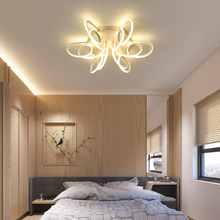 Modern Multiple Heads LED Chandeliers Fixture Ceiling Dimming Lamp