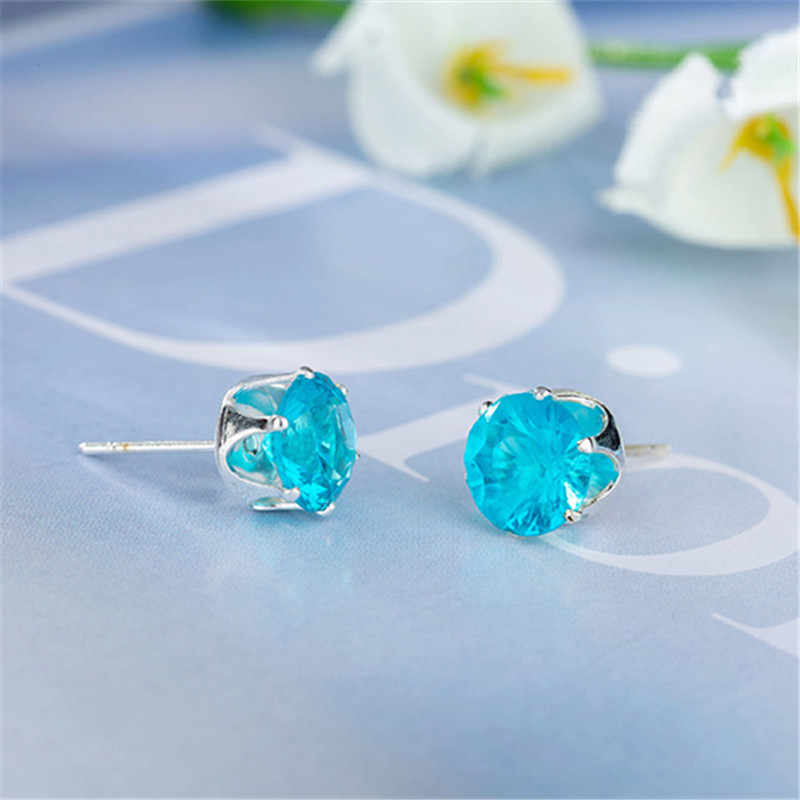 2019 New brand jewelry luxury austrian crystal earrings for women godl for women stud earrings for girls gift