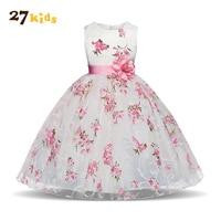 27Kids Girls Dress Kids Clothes Fancy Baby Girls Clothes Children Christmas Dress New Brand Girl Dress Princess for 3-8 Year
