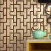Beibehang 3D Stereo New Chinese Wallpaper Brick Stands Bedroom Non Woven Living Room Wallpaper