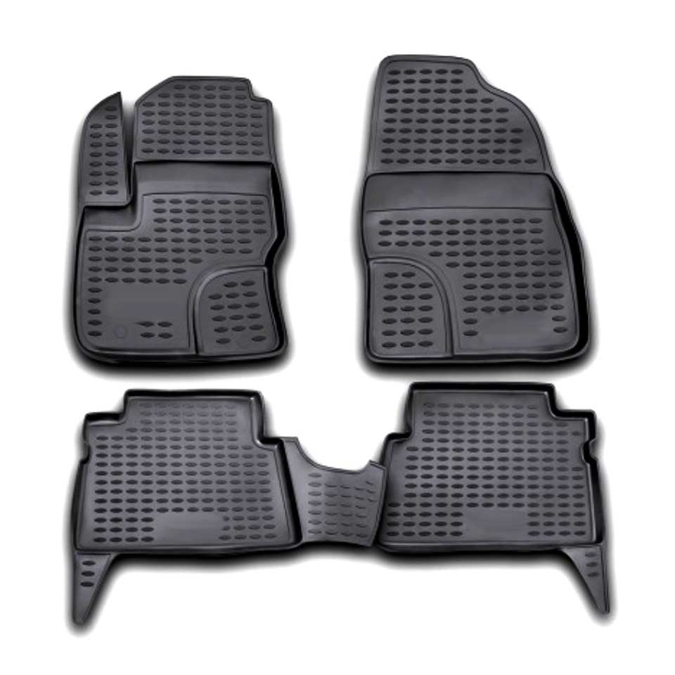 Floor mats for Ford C-Max 2003-2009 Element ELEMENT1607210k цена