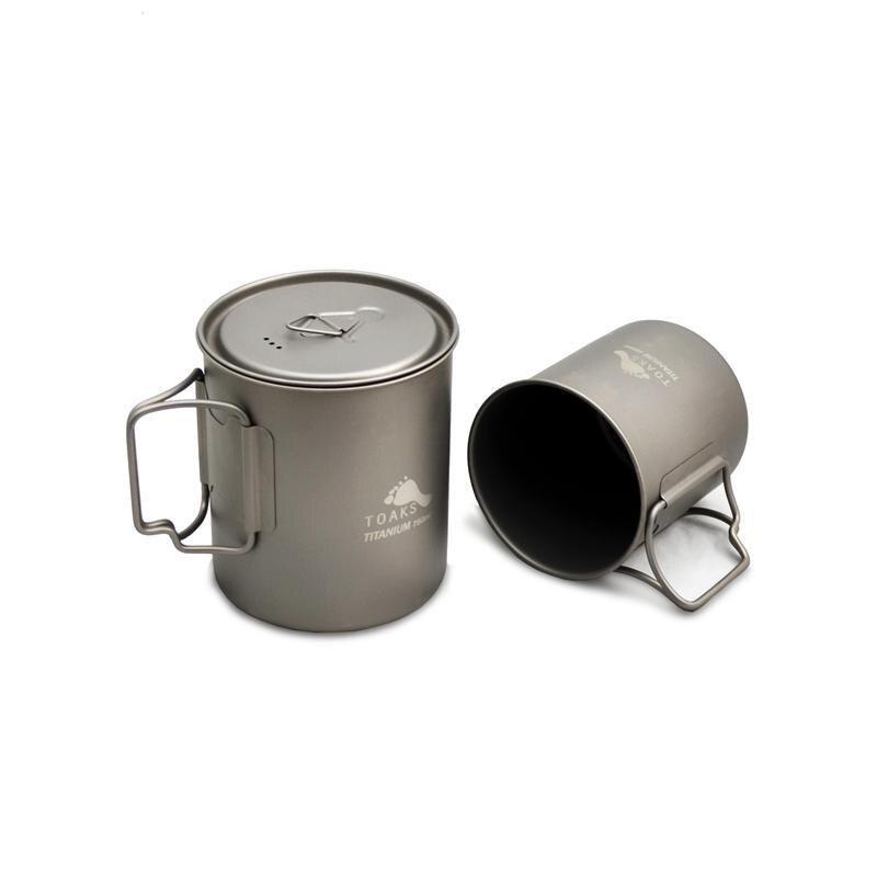 TOAKS Titanium Mug Titanium Cup Set 750ml pot+450ml nz titanium pot set