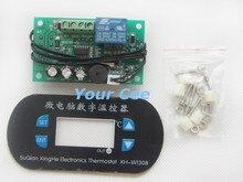 XH-W1308 W1308 Ajustável Legal Sensor de Calor Red Display Digital Controlador de Temperatura Termostato Interruptor DC 12 V