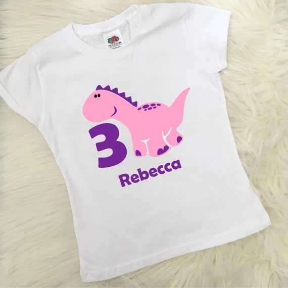 2c73c8049 ... personalize name 1st, 2nd, 3rd, 4th, 5th Dinosaur kids t shirts tops