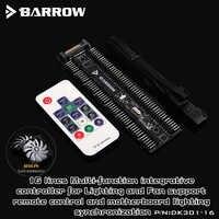 Barrow DK301-16, 16-way Controllers, Full Function LRC2.0 5V RGB Controller, Can Synchronization 5V RGB Motherboard,