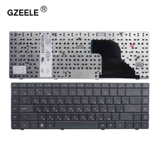 Teclado negro y ruso para ordenador portátil, para HP COMPAQ CQ620 CQ621 CQ625 620 621 625 Series RU